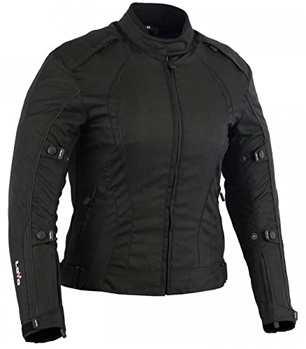 LOVO Chaqueta Corta para Moto (Mujer) (XL)