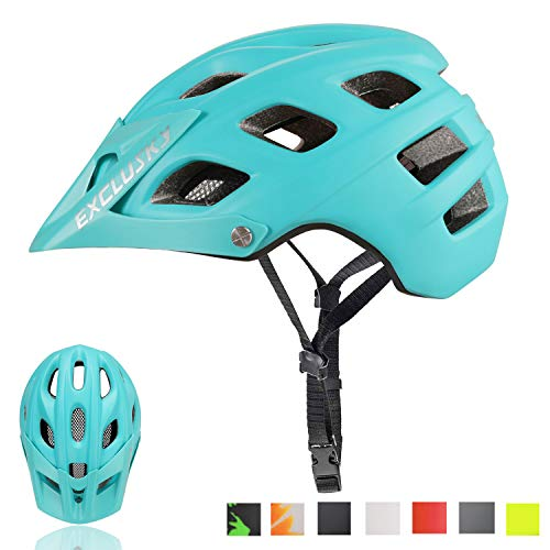 Exclusky Mountain Bike Helmet MTB Bicycle Cycling Helmets for Adult...