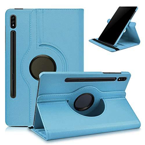 KATUMO Custodia per Samsung Galaxy Tab S7 Cover 360° Rotazione Flip Cover Tablet S7 11pollici 2020 con Funzione Stand SM-T870 T875 Tablet Protettivo