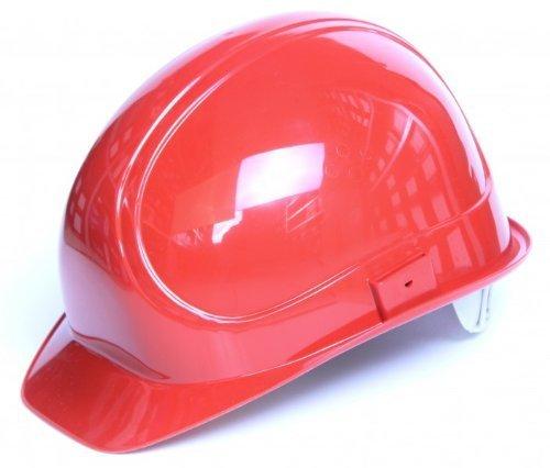 AUS casco de seguridad para electricistas en rojo 1000 V para la construcción