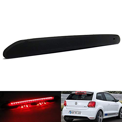 Schwarze Rauchglas Rücklichtblende für dritte Bremse, Bremslicht für Golf VI VII Golf Alltrack Golf Plus Polo V VI Sharan II Touran Mii Citigo Fabia III