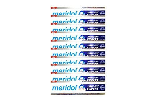 10x MERIDOL Parodont-Expert Zahnpasta 75 ml PZN 12442269 gegen Parodontitis