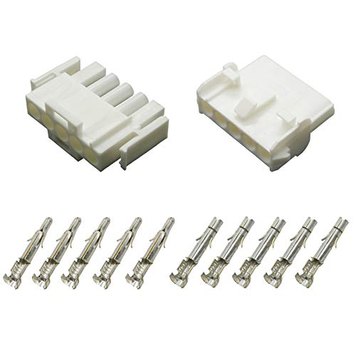 Stecker Set Steckverbinder Universal Mate N Lok 5-polig incl. Kontakten