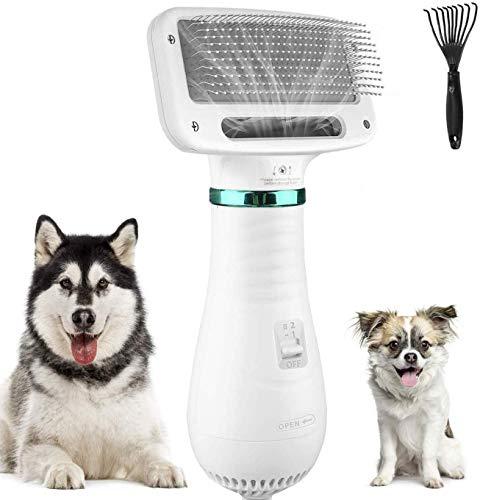 kupet 2 in 1 Hundetrockner für Hund, 300W geräuscharm Einstellbare Temperatur Hundefön...