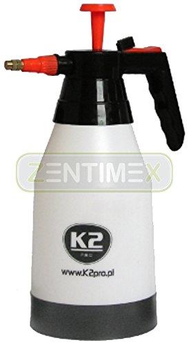 Profi-Hand-Drucksprüher Pumpsprüher Feinzerstäuber Pumpsprayflasche Pumpsprühflasche Pumpflasche Sprühflasche Sprayflasche Waschanlagen Waschstraßen Handwäschen Lack-Werkstätten Haushalt Dosierstufen Sprühkopf-Regulierung beständig gegen alkalische Flüssigkeiten Lösungsmittel Nitro geeignet für Bremsenreiniger Felgenreiniger Polsterreiniger Scheibenreiniger Kaltreiniger Motorreiniger Universalreiniger Fassungsvermögen: 1,5 Liter