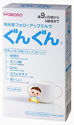 和光堂フォローアップミルクぐんぐんスティックパック×6セット