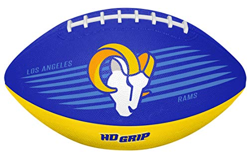 Rawlings NFL Los Angeles Rams 07731073111NFL Downfield Football (All Team Options), Blue, Youth