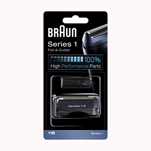 Braun - Combi-pack 11B - Láminas de recambio + portacuchillas para afeitadoras Series 1
