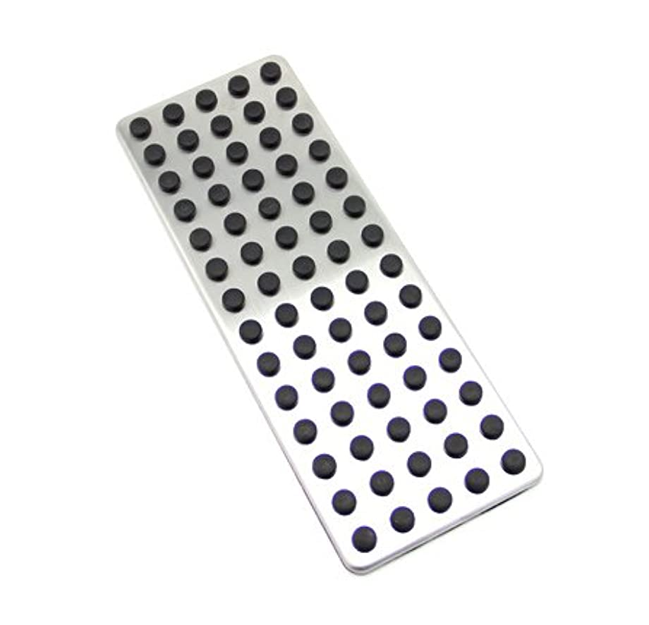 9 MOONStainless Steel Footrest Foot Rest Dead Pedal Pad Cover For Mercedes Benz A B C E S CLS SLK CLA GLA GLK ML G GL Series Car Styling