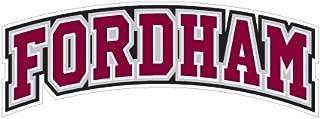 CollegeFanGear Fordham Medium Decal 'Arched Fordham'