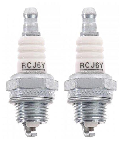 Homelite Ryobi RY08510 UT-20760 (2 Pack) 852 - RCJ6Y Spark Plug # 870174001-2PK