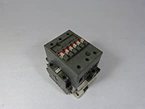 ABB A75-30-11-84 Contactor, 110 - 120 VAC Coil, 80 A at 3-Phase, 105 A at 1-Phase