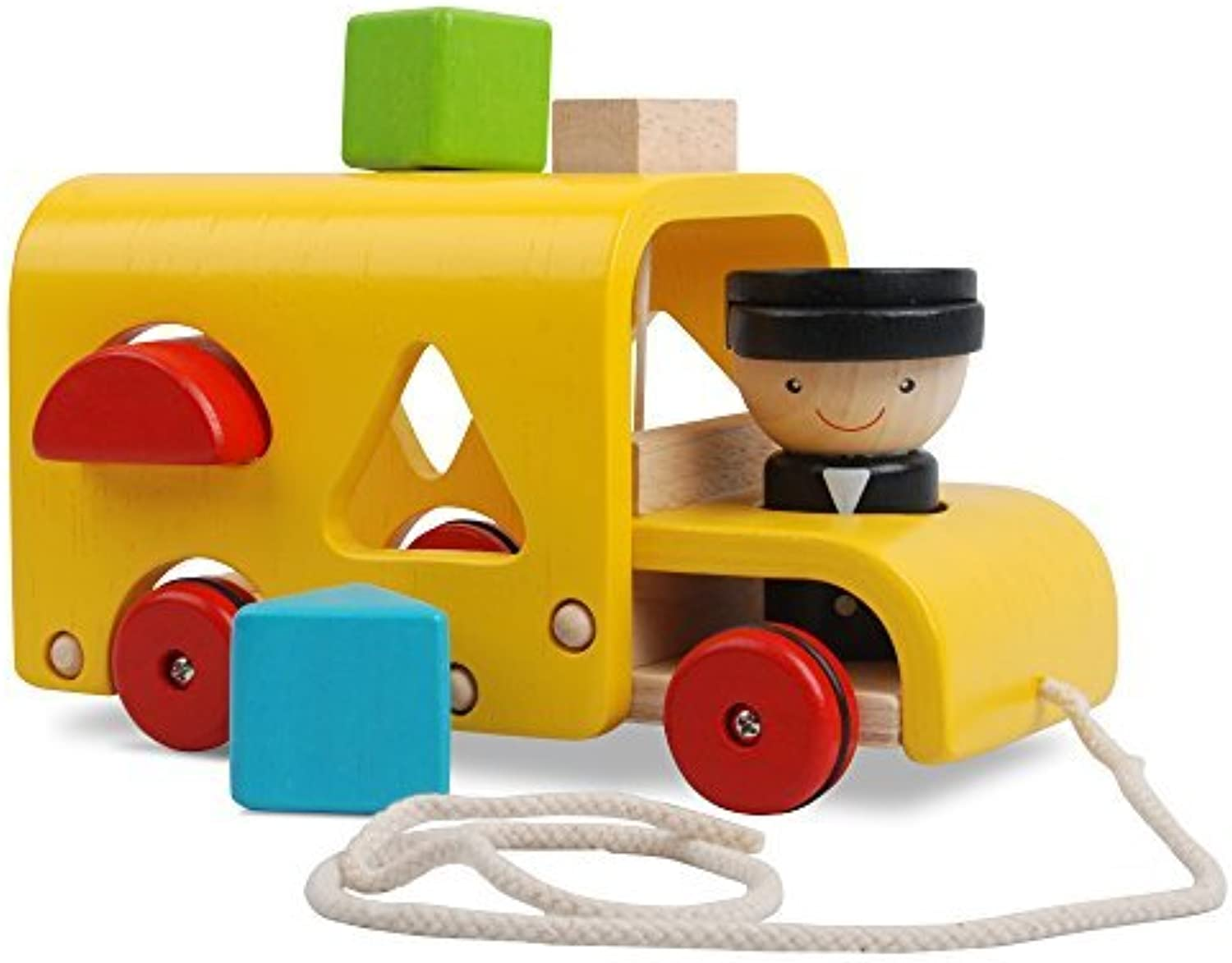 Plan Toys Sorting Bus by Plan Toys