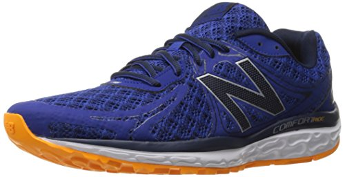 New Balance Men's 720v3 Running Shoe, Black/Grey, 9 D US