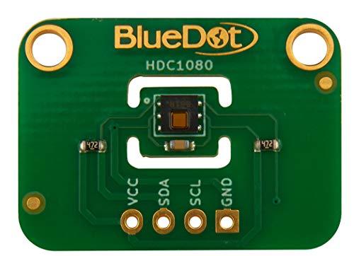 BlueDot HDC1080 Sensor für Arduino: Temperatur und Feuchte