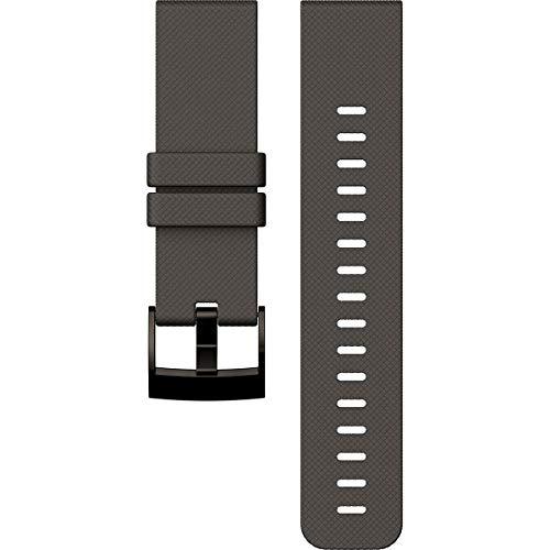SUUNTO Traverse Bracelet de Montre Mixte Adulte, Noir (Graphite), Taille unique
