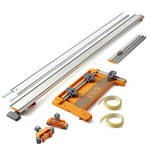 Bora NGX 6-Piece Premier Set, Straight Cutting Saw Guide Accessories for Circular Saw, 544600K