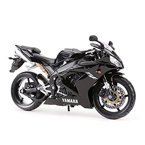 El Maquetas Coche Motocross Fantastico 1:12 Aleación Simulación En Miniatura Para Yamaha YZF-R1 Vehículos Fundición A Presión Juguetes Modelos Motocicleta Coleccionables Regalo Regalos Juegos Mas Vend