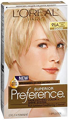 L'Oreal Superior Preference - 9-1/2A Lightest Ash Blonde (Cooler) 1 Each (Pack of 2)