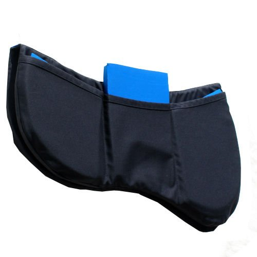 Prolite Tri-Pad Adjustable Saddle Pad,One Size,Bl