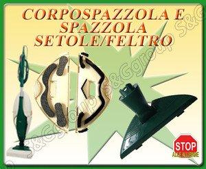 Spazzola Completa Combi Adattabile Vorwerk Folletto Vk 130 Vk 131 Vk135 136 140