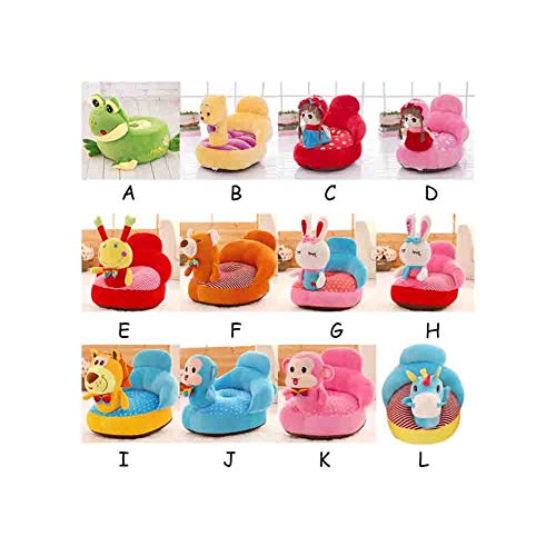 Purchase Baby Plush Seat Portable Sofa Support Animal Learning Sit Down Chair Keep Sitting Posture C...