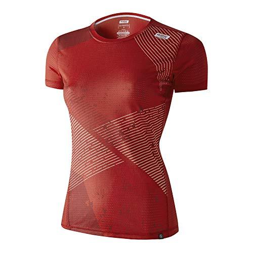 42K RUNNING - Camiseta técnica Elements 100% Reciclada 100% Reciclada Mujer Fire M