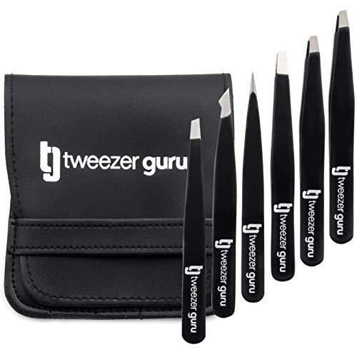 Tweezers Set 6-Piece - Tweezer Guru…