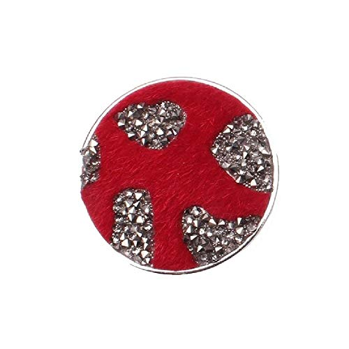 Brooch Magnetic Brooch Fur Red Scarf Clip Clothing Poncho Bags Boots Textile Jewellery