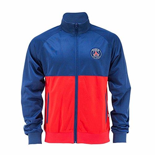 Paris Saint-Germain Jacke mit Reißverschluss, offizielle Kollektion, Kindergröße, für Jungen für 4-Jährige blau