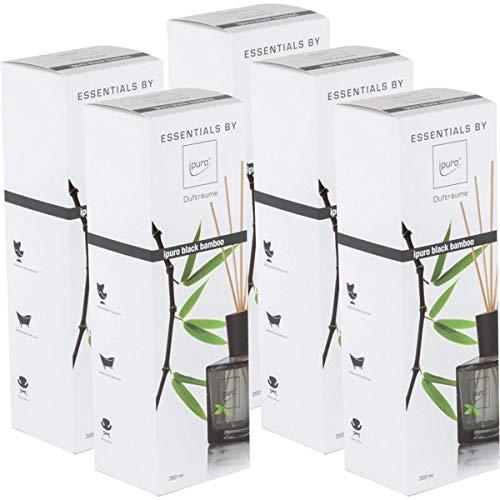 Essentials by Ipuro Black Bamboo 200ml Durfträume (5er Pack)