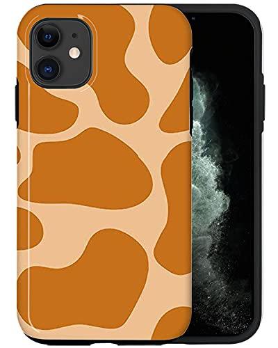 Casfy QWE061_4 - Carcasa para iPhone 11, diseño de jirafa, diseño de moda, accesorios para teléfono