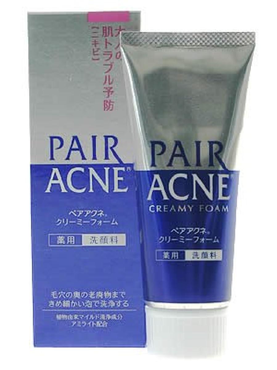 香りミンチに対してペアアクネ クリーミーフォーム 薬用洗顔料 80g(医薬部外品)