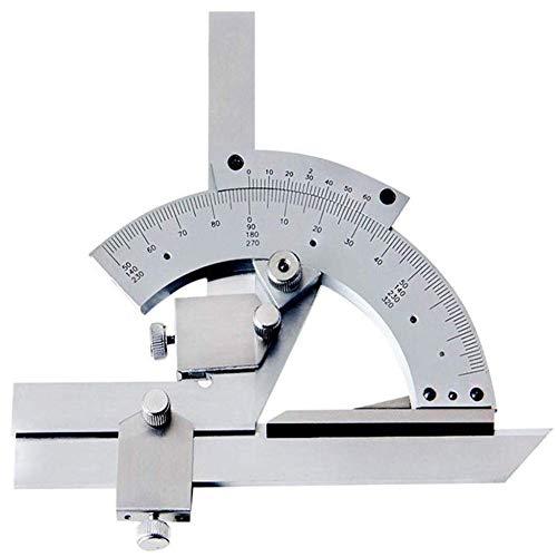 Nonius-Winkelmesser,0-320° Universal-Winkelmesssucher Mit Aufbewahrungsbox,Lineal Aus Kohlenstoffstahl Für Die Messung Von Innen- Und Außenbereichen