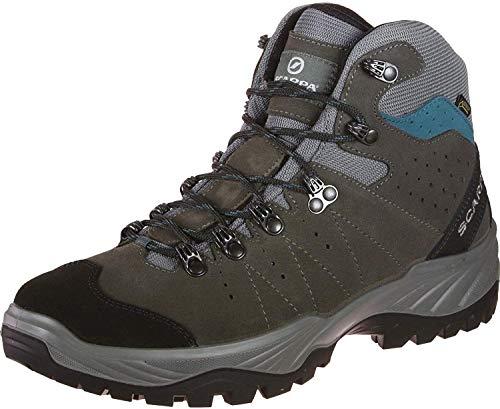 Mistral GTX Chaussures de randonnée pour homme - Gris - Gris/bleu (Smoke Lake Blue Gore Tex Energy II), 48 EU EU