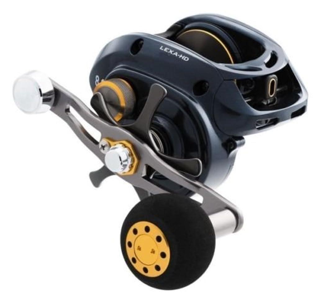 Daiwa LEXA-HD400XS-P Test Hyper Speed Baitcasting Fishing Reel, 17-20 lb, Black