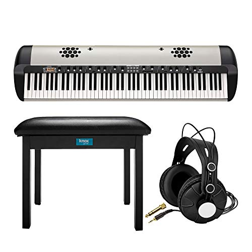 Great Price! Korg SV-288S Stage Vintage 88-Key Piano with Internal Speaker System Bundle with Knox H...