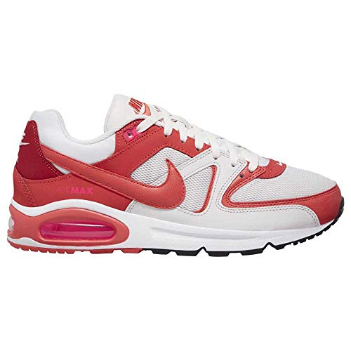 Nike Herren AIR MAX Command Men's Shoe Laufschuh, Platinum Tint Track Red Gym Red, 47 EU