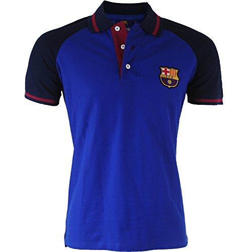 FC Barcelone - Polo Barca, collezione ufficiale, taglia adulto, da uomo, XXL