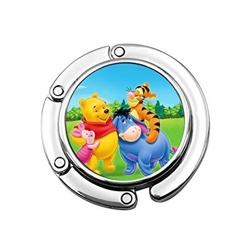 Winnie The Pooh - Colgador portátil para Bolsos de Mano, diseño de Anime