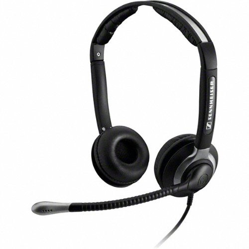Sennheiser CC 550 IP Binaural Verkabelt Schwarz Mobiles Headset - Mobile Headsets (Binaural, Schwarz, Verkabelt, 1 m, 150-6800 Hz, 103 dB)