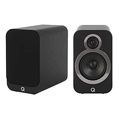 Q Acoustics 3020i Bookshelf Speakers (Pair) (Carbon Black) from Q acoustics