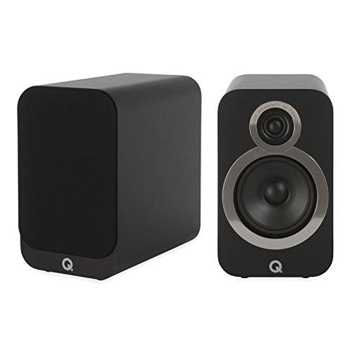 Q Acoustics - Cassa libreria compatta (per coppia) Sensibilità (2,83 Vrms@1 m): 88 dB