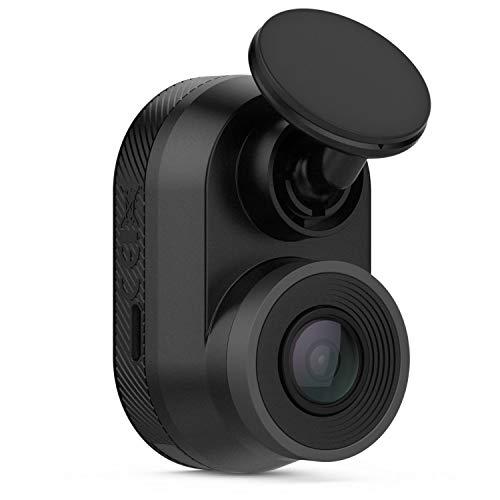 Garmin DashCam Mini – automatische Speicherung von Unfallvideos, kompakt, HD-Aufnahmen, 140° Weitwinkel