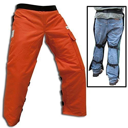 Cold Creek Loggers Chainsaw Apron Safety Chaps Pocket (40',...