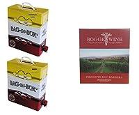 boggero bogge wine - tris vini rossi bag in box 5 l - monferrato rosso nebbiolo - piemonte barbera - dolcettomontà