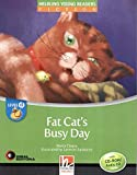 Fat's cat busy day. Level D. Young readers. Fiction registrazione in inglese britannico