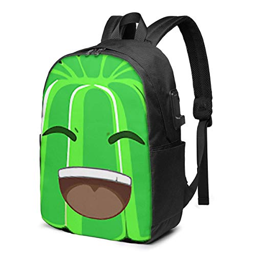 Jelly Time Laptop Bapa School Bag Daypa Adjustable for Women Men with USB Charging Port 17inch