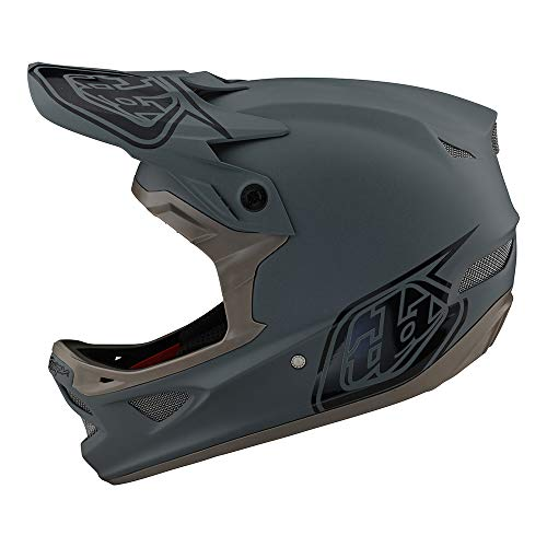Troy Lee Designs D3 Fiberlite Helm grau Kopfumfang XS | 52-54cm 2021 Fahrradhelm