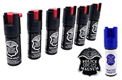 BONUS: The Inert Practice Canister for training — the practice canister works just like the real spray Value Pack of 6 1/2oz (0.50oz) Pepper Spray's for Personal Carry POWERFUL PERSONAL PROTECTION — 2 pack Pepper Sprays Police Magnum 0.5 Ounce Twist ...